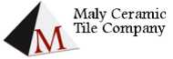 Maly Ceramic Tile Co. Mobile Logo